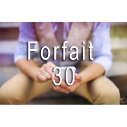 Consultation (forfait 30)